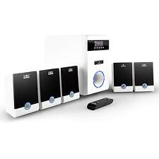 POWERFUL 5.1 SURROUND SOUND HIFI PC ACTIVE SPEAKER SYSTEM *FREE P&P UK OFFER