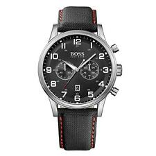 NEW HUGO BOSS 1512919 MENS AEROLINER CHRONOGRAPH WATCH - 2 YEAR WARRANTY