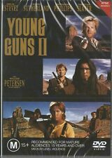 YOUNG GUNS 2 - KIEFER SUTHERLAND & EMILIO ESTEVEZ - NEW & SEALED DVD