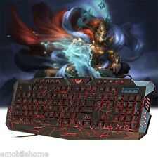 Cool! Gaming Keyboard 3 Backlight Modes USB Powered 19 Keys Conflict-free