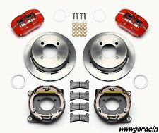 "Ford Falcon,Mustang,Ranchero Wilwood Dynapro Rear Parking Brake Kit, 11"" Rotors-"