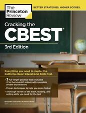 Cracking the CBEST, 3rd Edition (Professional Te by Princeton Review [Paperback]