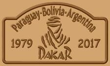 Dakar logo 2017 Parche bordado iron-on patch Paraguay-Bolivia-Argentina