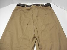 NWT Womens Size 16 Christopher & Banks Khaki Pants Chinos w/ Belt