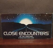 Close Encounters of the Third Kind board game 1978 X-files aliens Parker Brother