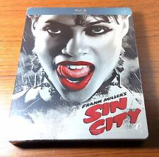 -NEW- Sin City Steelbook (Blu Ray)