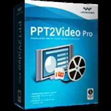Wondershare PPT(2) to Video Converter 6.1.PRO dt.Vollversion ESD Download