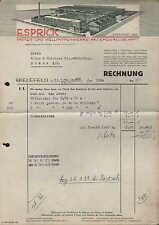 BIELEFELD, Rechnung 1939, Papier- und Wellpappen-Werke AG E. Sprick