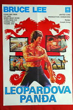 LEOPARD CLAW BRUCE LEE CHAN WAI MAN KUNG FU HONG KONG 1970'S  EXYU MOVIE POSTER