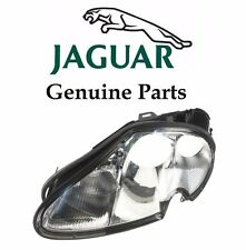 Jaguar XK8 XKR Driver Left Headlight Lens Genuine LJA 4651BA