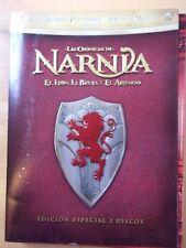 2 DVD,Las Cronicas de Narnia.