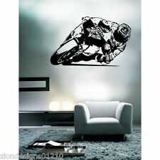Casey Stoner Wall Art 02motorcycle RACER Decalcomania Grafica Adesiva Unica