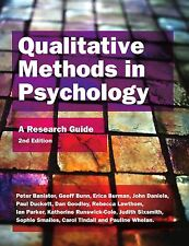 Qualitative Methods in Psychology: A Research Guide by Ian Parker, Erica Burman…