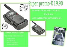 COPPIA DI WALKIE TALKIE   PMR 506 TX