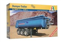 Italeri 3845 1/24 Scale Model Truck Kit Dumper Trailer