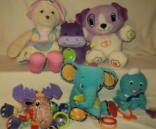 Toy LOT for Baby Age 1+ Learn to Dress Bear-Laugh & Learn Puppy-Lamaze-6 TOYS