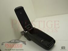Audi A4 B7 Black Cloth Front Armrest with Phone Cradle Mount