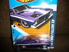 2012 Hot Wheels 73 Ford Falcon XB Super Treasure Hunt  RARE 1/64