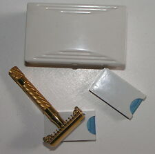 Gillette Razor 430030 Vintage Bakelit Box No 46 Popular Gold 1939 Rasierapparat