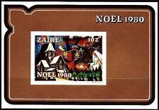 Zaire 1980 ** Bl.39 B Weihnachten Christmas Kirche Church [sp510]