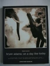 BRYAN ADAMS ON A DAY LIKE TODAY JAPAN BAND SCORE GUITAR TAB