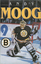 Andy Moog BOSTON BRUINS Original Starline Poster MINI Promo Piece 3x5