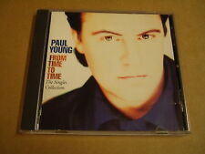CD / PAUL YOUNG - FROM TIME TO TIME - THE SINGLES COLLECTION