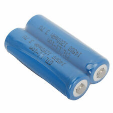2Pcs 3.7V 1200MAH 14500 GTL Lithium durable High Energy Density Battery Blue
