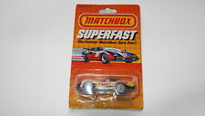 Matchbox Superfast Super Fast #10 SF10 Turbo Vette Chevrolet Corvette mint boxed