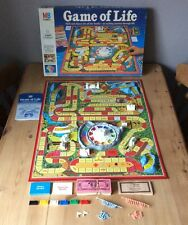 Game Of Life Vintage Board Game MB Games Complete 1984 Rare