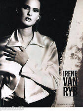 PUBLICITE ADVERTISING 065  1995  IRENE VAN RYB   haute couture 2