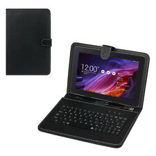 Universal Leather Case with Micro USB Keyboard For 9inch Tablet PC Nexus 9