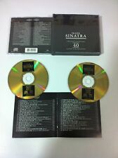FRANK SINATRA - THE GOLD COLLECTION - 2 CD + BOOKLET FAT CASE 40 TRACKS!!!