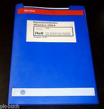 Werkstatthandbuch Seat Alhambra 4-Zyl. Einspritzmotor 2-Ventiler Mechanik ab 96