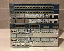 Advanced Cisco CCNA CCNP CCIE Lab 2x 2821 2x 2621XM Routers 2x 2950 3550 Switch