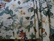 "COLONIAL WILLIAMSBURG GARDEN IMAGES Floral Fabric 54"" Wide By Yard"