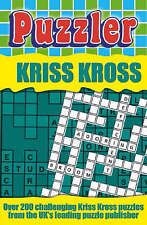 """""""Puzzler"""" Kriss Kross (Puzzles), By ONBEKEND,in Used but Acceptable condition"""