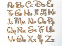 DISNEY FONT WOODEN LETTERS lettering,words,craft,card,wall,art,door,sign,signage