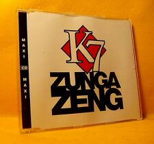 MAXI Single CD K7 Zunga Zeng 5TR 1993 pop rap