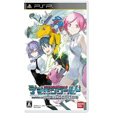 PSP Digimon World Re: Digitize Japan Import Free Shipping F/S