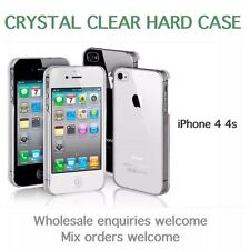iPhone 4 4s crystal clear ultra thin hard case BUY 2 GET A 3rd FREE
