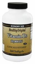 Healthy Origins - Vitamin D3 10000 IU - 360 Softgels