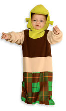 SHREK Plush Bunting Costume w/ Headpiece Newborn Baby Infant Age 0 9 months