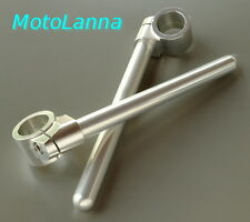 Clip-On Handle Bars 35mm Billet CNC Yamaha SR500 XS650 CB-750 CB-550 Norton