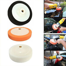 3 x M14 Thread Polishing Sponge Heads Auto buffing Soft Pads Car Cleaning 150MM