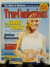 True Confessions Sin of Past Online Romance Nightmare July 2015 FREE SHIPPING JB