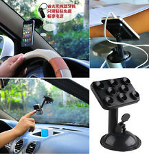 HOT 360°Windshield in Car Kit Mount Holder Cradle For HTC iPhone 6 Samsung XSEU