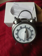 Retro Kitchen Timer Looks like Alarm Clock