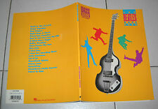 Spartiti THE BEATLES BASS BOOK – OTTIMO 1990 Songbook spartito Basso