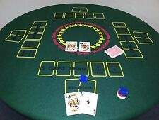 Poker Table Top. Instant game table, Blackjack,Texas holdem, 5 card stud, etc.